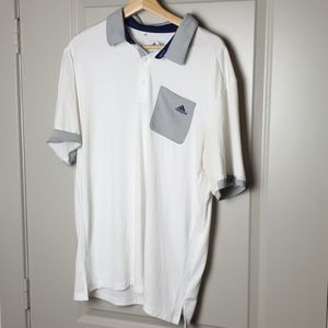 Addidas climacool Golf Shirt (Sz. L)